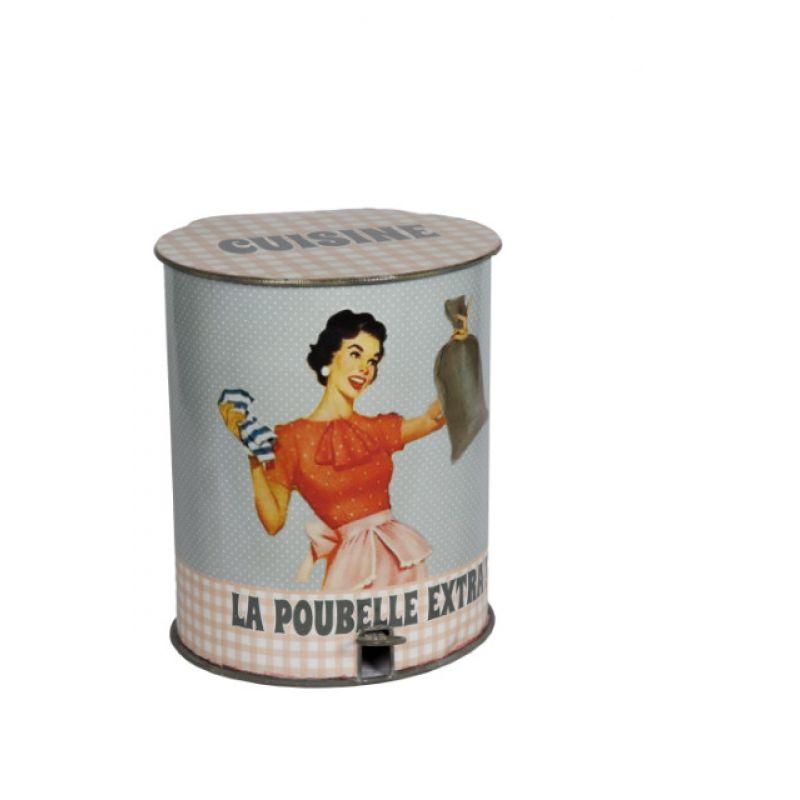 Vintage Abfalleimer für die Küche Cuisine, 89,00 €,