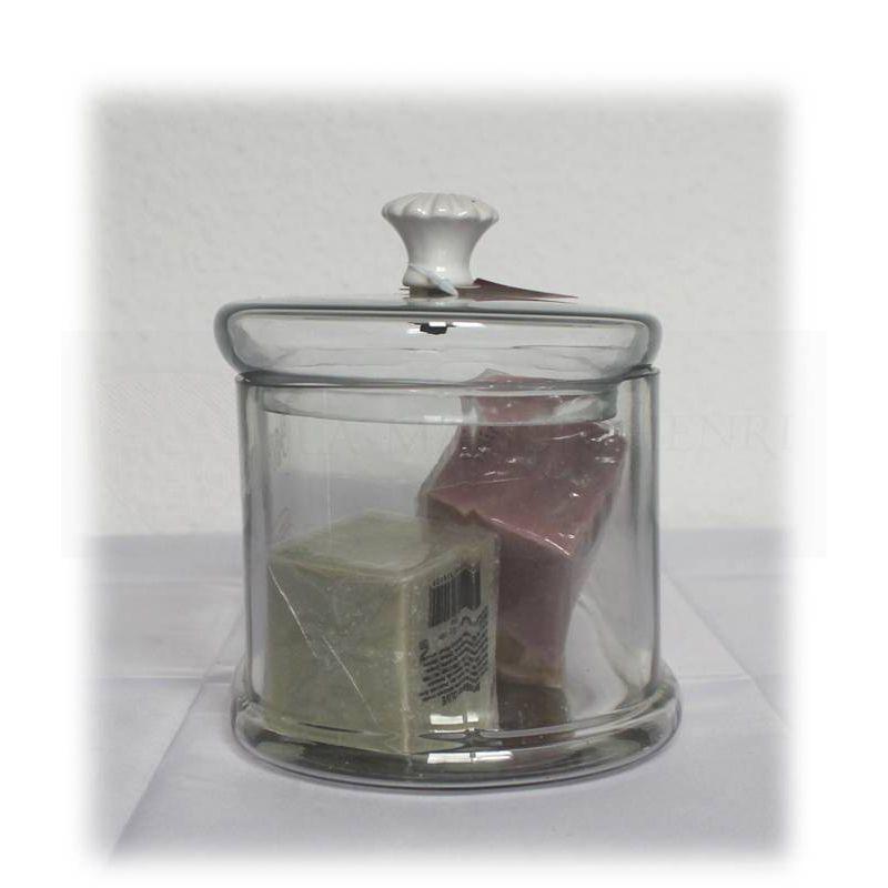 """glasbehälter mit deckel für seifen """"savons"""", 45,2, Hause ideen"""