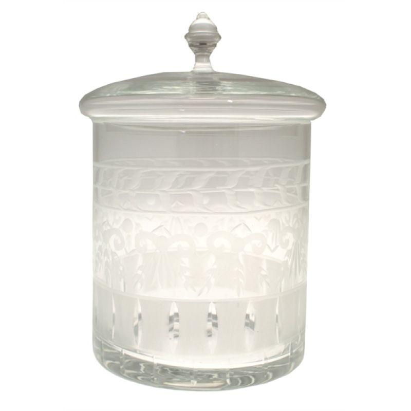 "geschliffener glasbehälter mit deckel ""senlis ii"", 62,, Hause ideen"