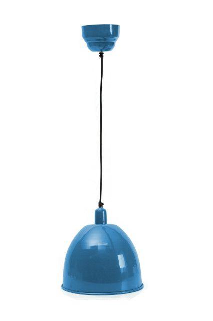 vintage deckenlampe h ngelampe blau 21 cm 49 95 la mais. Black Bedroom Furniture Sets. Home Design Ideas