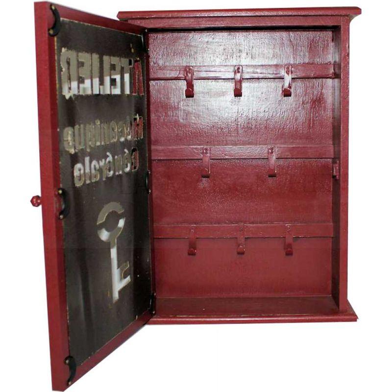 vintage schl sselkasten shabby rot 69 95 la maison hen. Black Bedroom Furniture Sets. Home Design Ideas