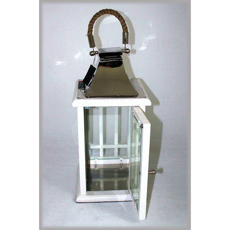 gartenlaterne dekorative laterne aus holz 69 95 la maison h. Black Bedroom Furniture Sets. Home Design Ideas