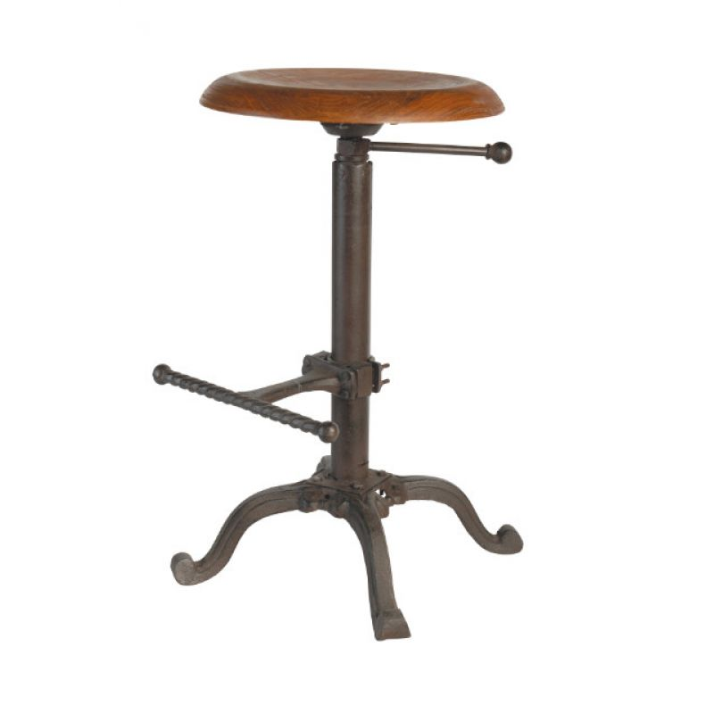 Barhocker hocker tabouret 60x45 h henverstellbar la for Barhocker 60