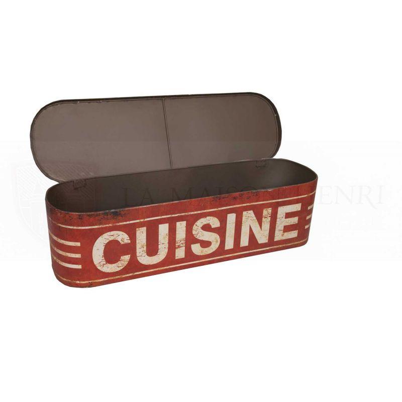 deko box brotkasten bo te tag re cuisine la maison henri shop prei 79 95. Black Bedroom Furniture Sets. Home Design Ideas
