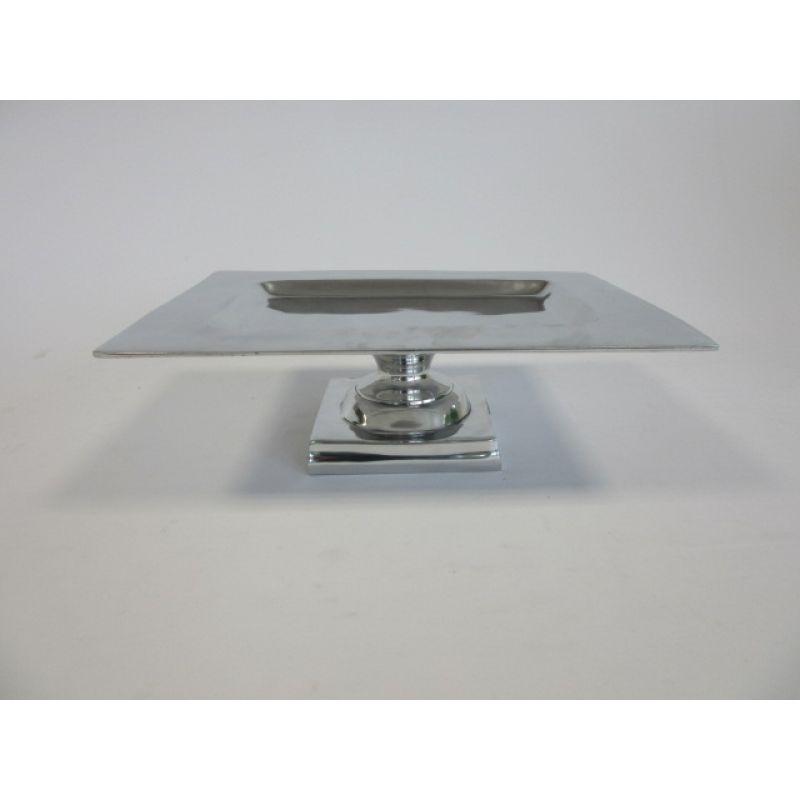 schale auf stand dekoschale tablett 45x34x14cm la maison henri shop 69 95. Black Bedroom Furniture Sets. Home Design Ideas
