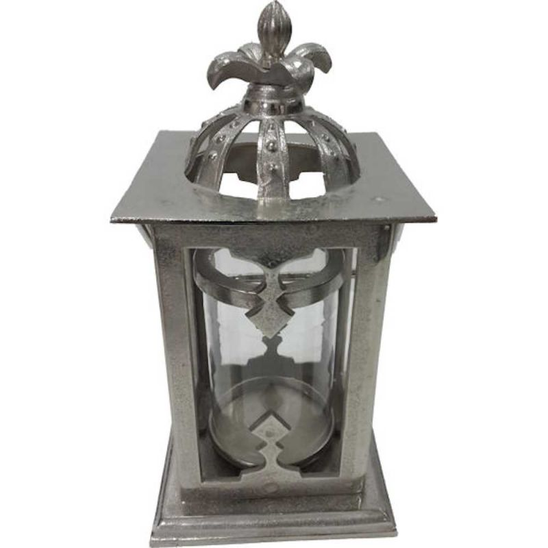 Lamaisonhenri gartenlaterne alu glas modell krone la for Windlicht glas gross