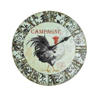 Wanduhr Coq Campagne