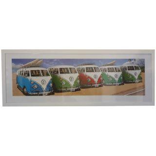 Busse mit Rahmen Camper in California I 95 cm