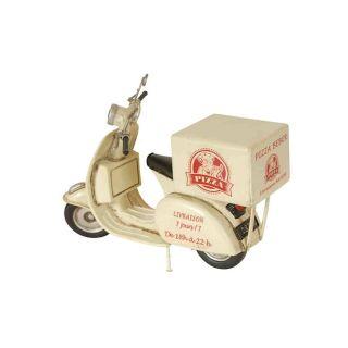 Deko-Objekt Vintageroller Motorroller Beber Pizza Service
