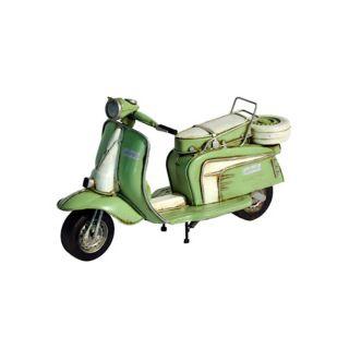 Deko Skulptur Motorroller