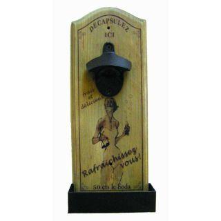 Französischer Flaschenöffner Vintage