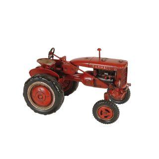 Deko-Objekt Traktor im Vintage Look