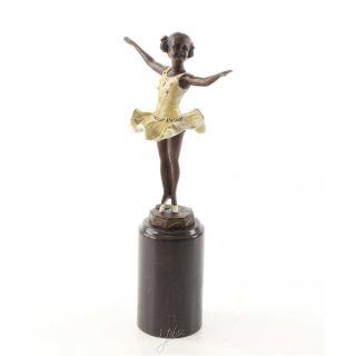 Bronze Skulptur Ballerina 32 cm