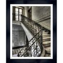 Bild Kunstdruck Französischer Treppenaufgang I