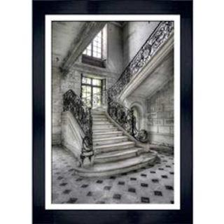 Bild Kunstdruck Französischer Treppenaufgang II