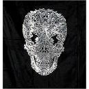 Grand Design Samtdecke 130x170cm Skull