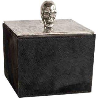 Deckeldose Totenkopf Skull quadratisch
