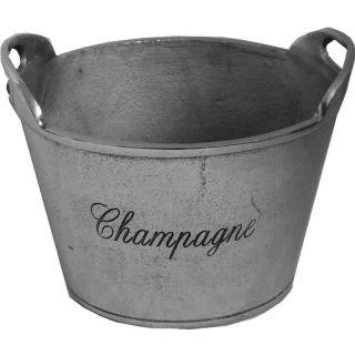 Champagner Kühler Weinkühler oval mit Griff