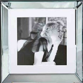 Spiegelrahmen Bild Marilyn Between Friends 50x50cm