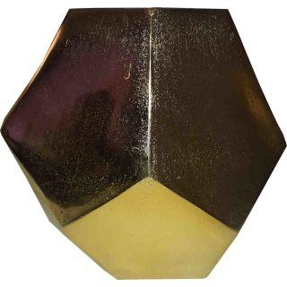 Alu Vase Goldfarben 19 cm