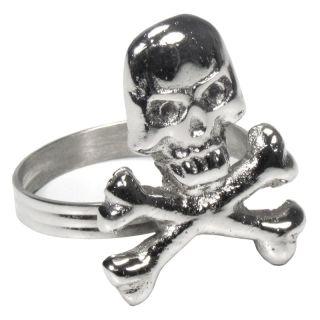Serviettenring Skull Set von 6