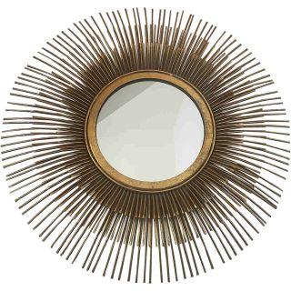 Stylischer Sonnen Spiegel goldfarben