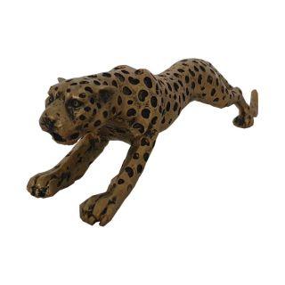 Gepard kleine Ausführung goldfarben 23 cm