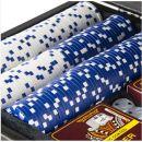 Poker Set in schwarzer Box