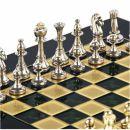 Classic Metal Staunton Schachspiel Set 28cm