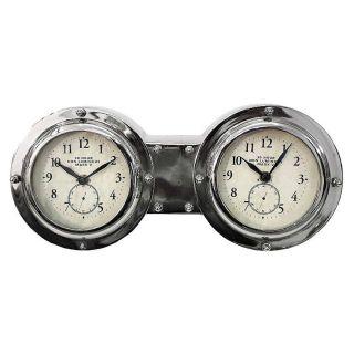Dashboard Dual Clock Tischuhr