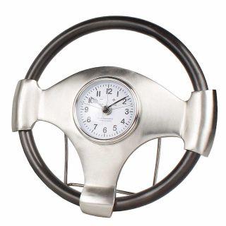 Tischuhr Steering Wheel 35 cm