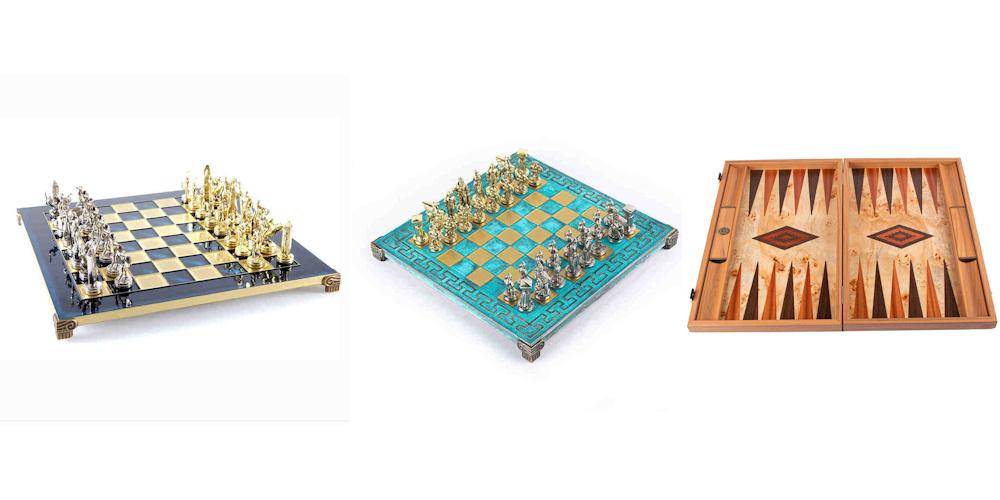 Exklusive Brettspiele und Schachfiguren